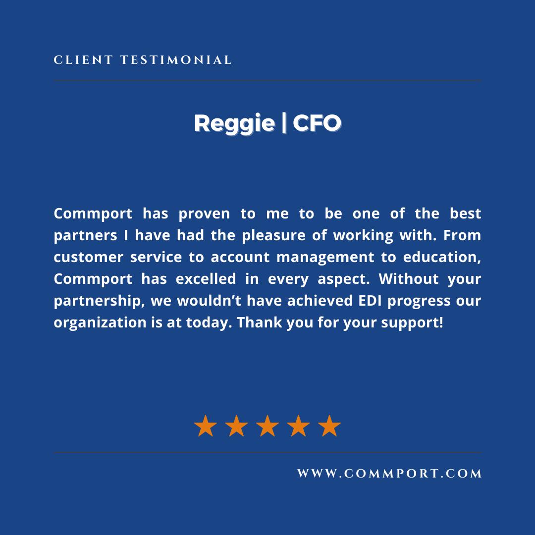 Commport Communications Reggie CFO - Customer Testimonial